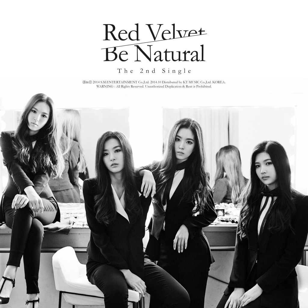 Red Velvet (레드벨벳) The 2nd Single 'Be Natural' 자켓이미지 (1)