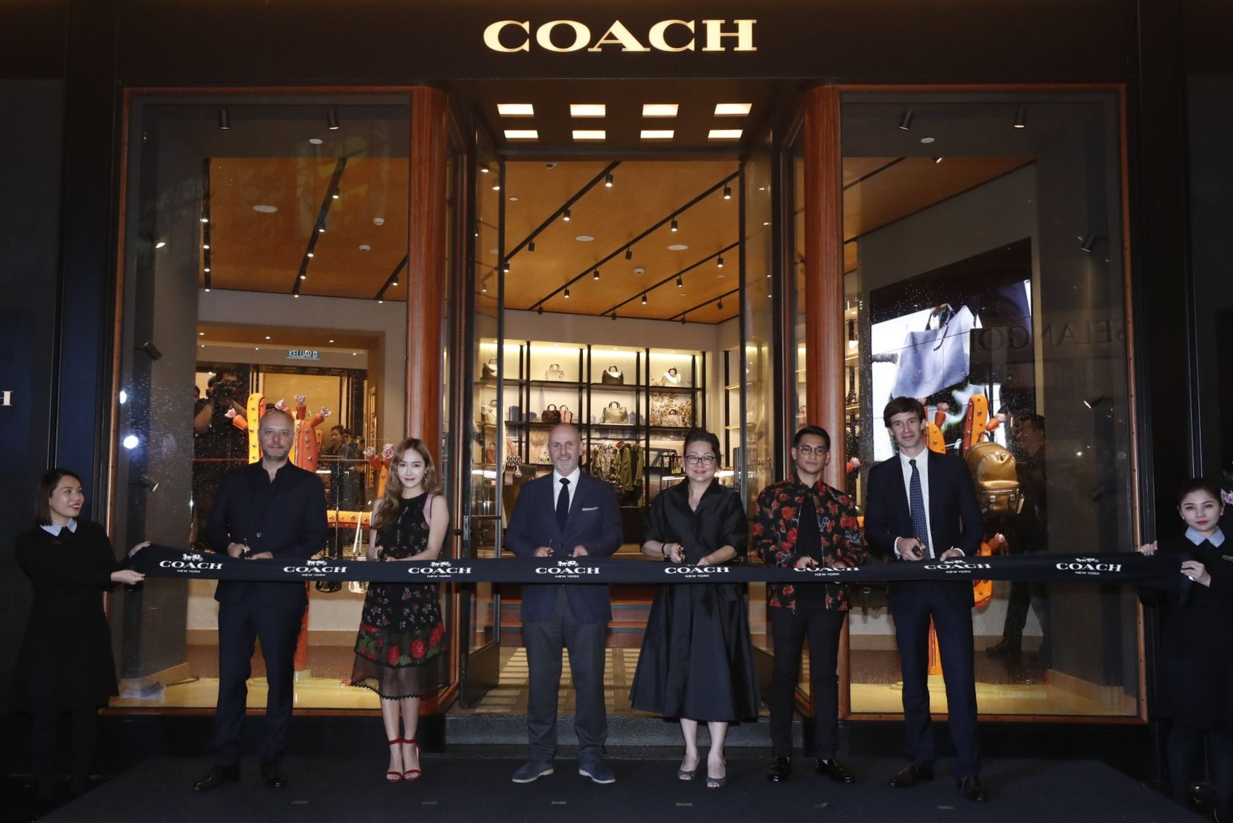 8d9ec39285 Coach Malaysia Celebrated The Opening of Their Flagship Store in Malaysia  at the Launch Party in Pavilion Elite
